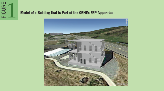 Provenance in Sensor Data Management: Model of a Building that is Part of the ORNL�s FRP Apparatus