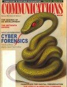 Next-generation cyber forensics