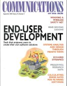 End-user development: tools that empower users to create their own software solutions