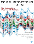 The Status of the P versus NP Problem